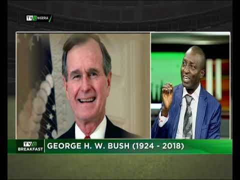 TVC Breakfast 3rd December 2018 | George H.W.  Bush (1924-2018)