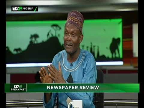 TVC Breakfast 4th December 2018 | Newspaper Review