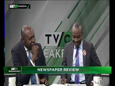 TVC Breakfast 12th December 2018 : Newspaper Review