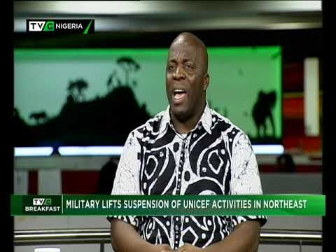 TVC Breakfast 17th Dec. 2018 | Military lifts suspension of UNICEF Activities in Northeast
