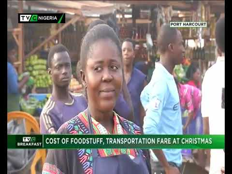 TVC Breakfast 24th Dec., 2018| Cost of foodstuffs, transportation fare at xmas