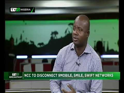 TVC Breakfast 24th Dec., 2018|  NCC to disconnect 9Mobile, Smile, Swift Network