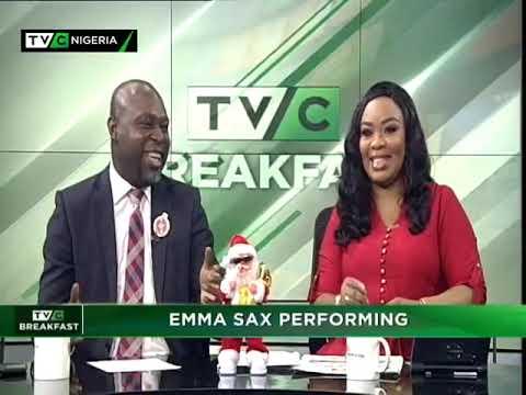 TVC Breakfast 27th December 2018 | Emma Sax Performing