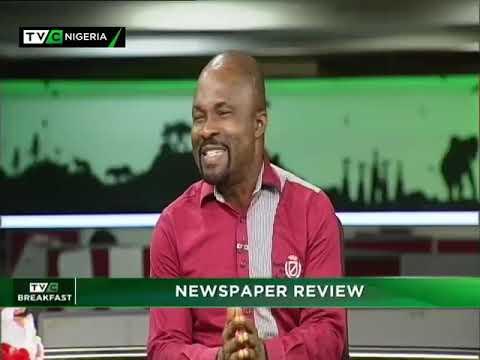 TVC Breakfast 27th December 2018   Newspaper Review with Dan Ekere