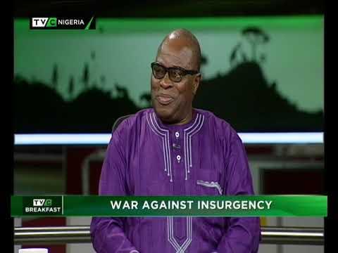 TVC Breakfast 4th 2019 |  War Against Insurgency