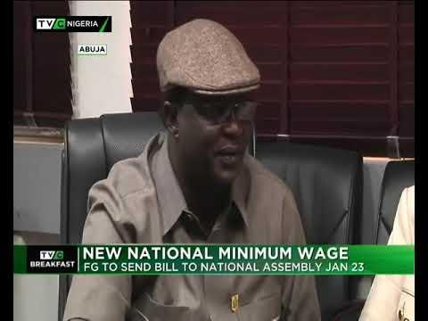 TVC Breakfast 9th Jan. 2019    New Minimum Wage