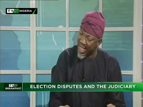 TVC Breakfast  10th Jan., 2019 | Election Dispute and the Judiciary