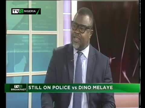 TVC Breakfast 14th Jan., 2019 |  Police vs Dino Melaye
