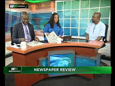 TVC Breakfast 17th January 2019| Newspaper Review