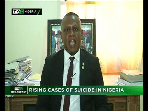 TVC Breakfast 18th January 2019 | Rising cases of Suicide in Nigeria