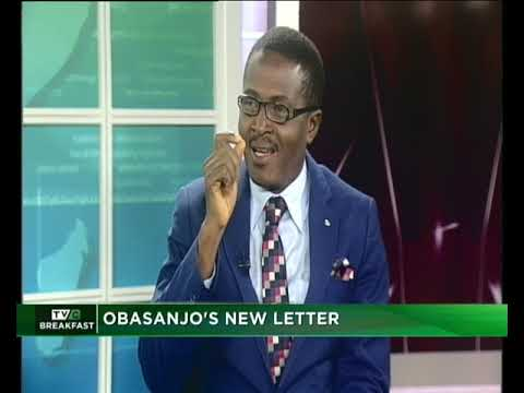 TVC Breakfast January 21st, 2019 Obasanjo's New Letter