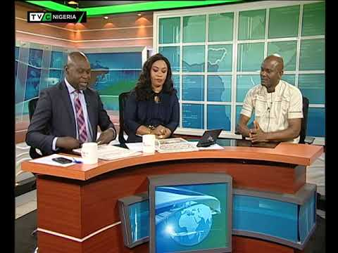 TVC Breakfast 22nd January 2019   Newspaper Review with Charles Ideho