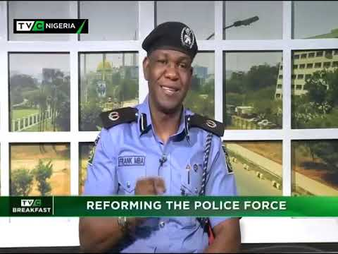 TVC Breakfast 24th Jan., 2019 | Reforming the police force