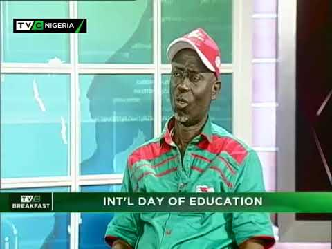 TVC Breakfast 24th Jan., 2019   Int'l day of Education