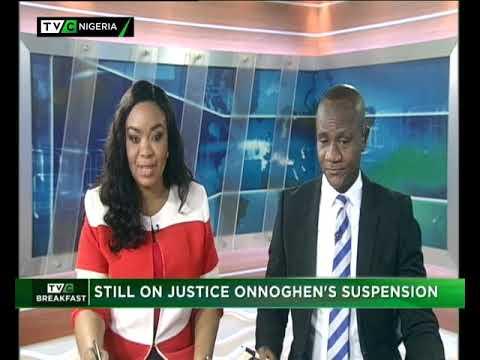 TVC Breakfast 29th January 2019 | Still on Justice Onnoghen's Suspension