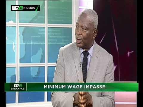 TVC Breakfast 29th January 2019   Minimum Wage Impasse