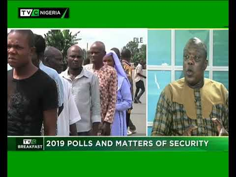 TVC Breakfast January 30th, 2019|2019 Polls And Matters Of Security