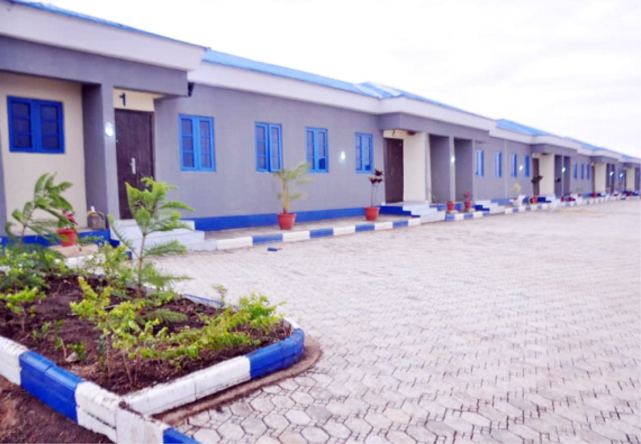 CAS inaugurates residential accommodation for personnel in Jos