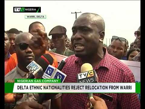 Delta ethnic nationalities reject relocation of Gas company from Warri