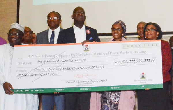 Sukuk bond: Ministry of works receives N100bn for road projects