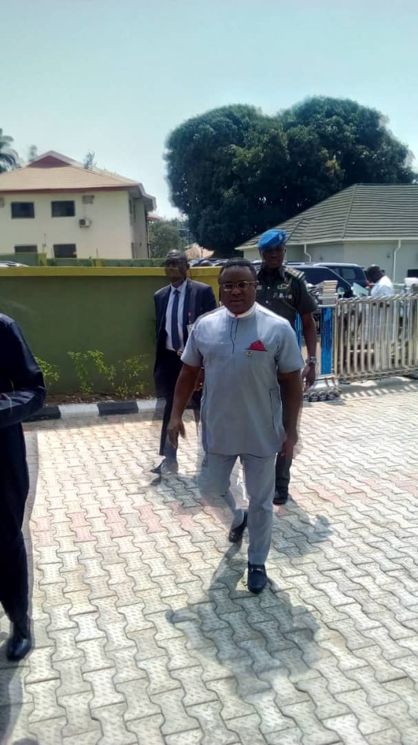 PHOTOS: Governors arrive venue of meeting with NSA, acting IGP