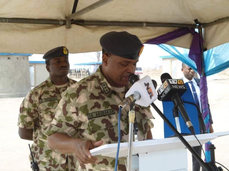 CAS inaugurates Commando Village at Special Operations Command Bauchi