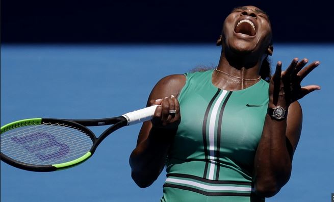 Serena Williams throws away 5-1 lead to crash out of Australian Open