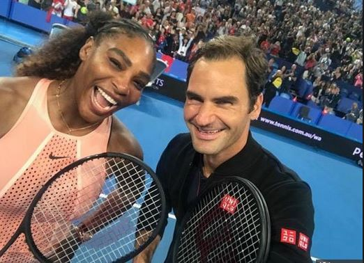 Federer, Serena click 'greatest selfie of all time' after dream clash