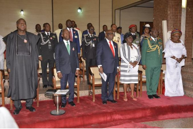 Military holds interdenominational service ahead Armed Forces Remembrance Day