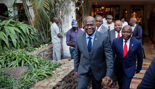 DRC Elections: President-elect,Tshisekedi pays homage to Kabila