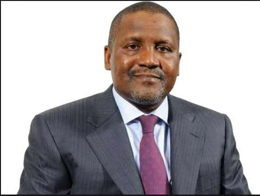 Dangote retains the Africa's richest man title for the eighth consecutive time