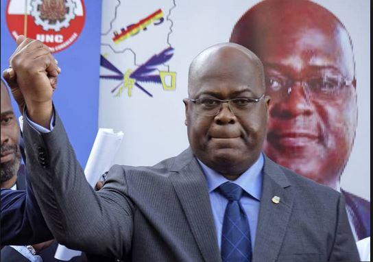 Opposition leader, Felix Tshisekedi declared winner of Congo election