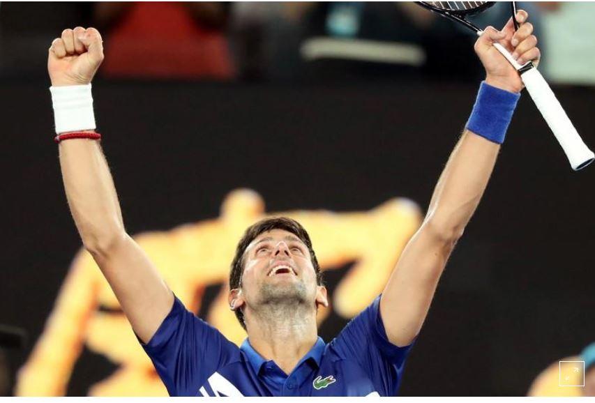 Djokovic shines in Melbourne Park opener