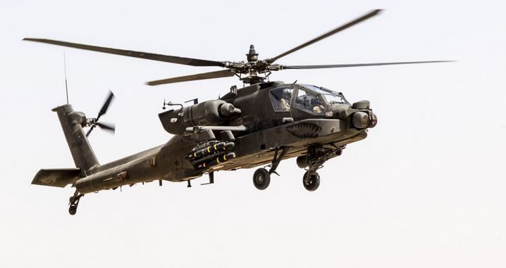 NAF helicopter lost in combat while providing air support in the north east