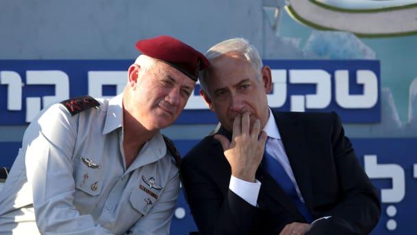 Ex-Israeli military chief, Gantz seeks peace moves with PM, Netanyahu