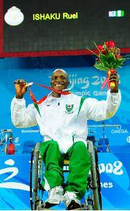 Ruel Ishaku elected as male Paralympic athletes representative