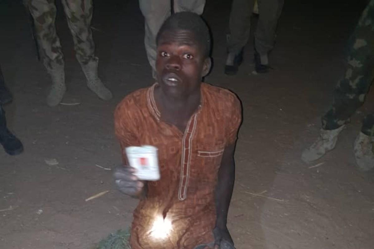 Troops arrest terrorists group member at Bulabulim Ngarnam community