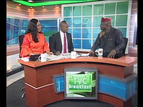TVC Breakfast 1st February 2019 |  Newspaper Review with Gbola Oba