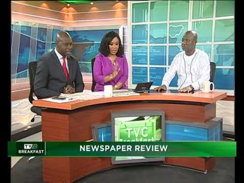 TVC Breakfast 6th Feb., 2019 | Newspaper Review