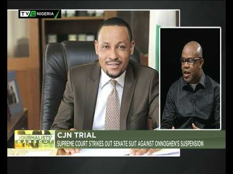 Journalists' Hangout 6th Feb., 2019 | CJN Trial