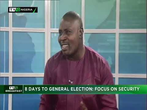 TVC Breakfast 7th February 2019 | 8 Days to General Election: Focus on Security