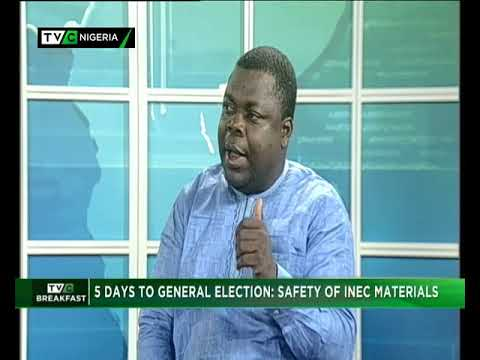 TVC Breakfast Feb. 11th, 2019 Safety Of INEC Materials