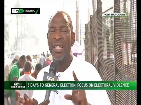 TVC Breakfast Show 13th Jan., 2019 |  Electoral Violence