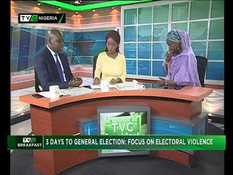 TVC Breakfast Show 13th Jan., 2019 |  Focus on Electoral Violence
