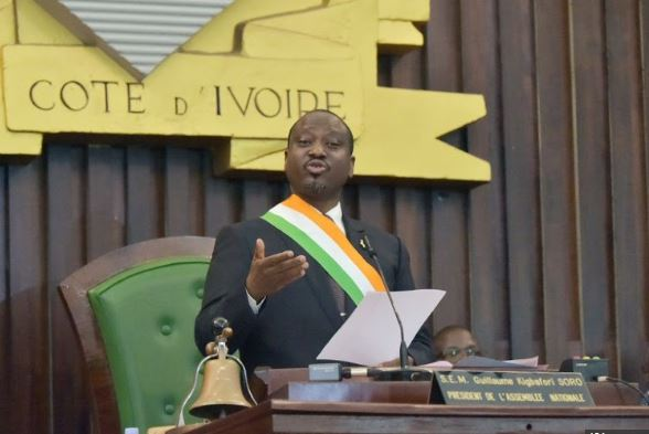 Ivorian parliament speaker resigns ahead of possible presidential run