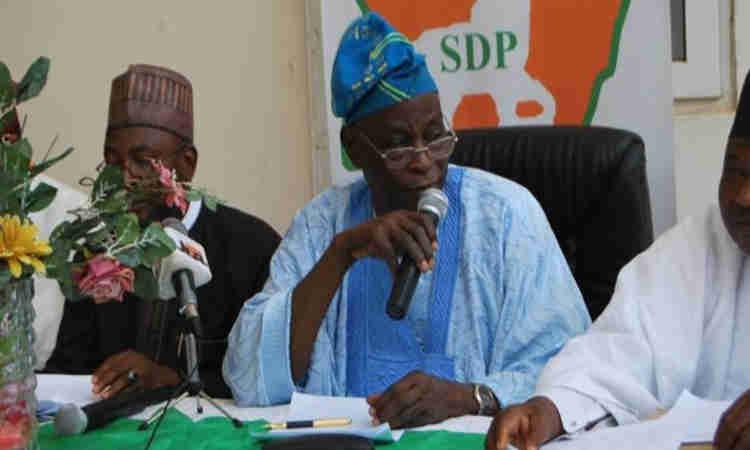 Olu Falae steps down as SDP chairman, quits active politics