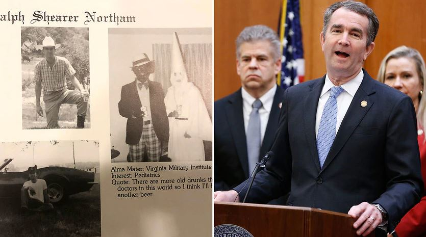 Virginia gov., Ralph Northam apologises for racist photo, says he won't step down