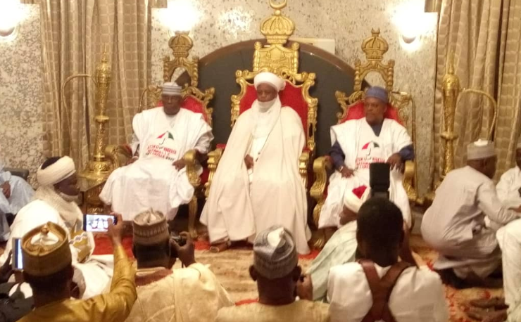 Put nation first before self, Sultan tells Politicians
