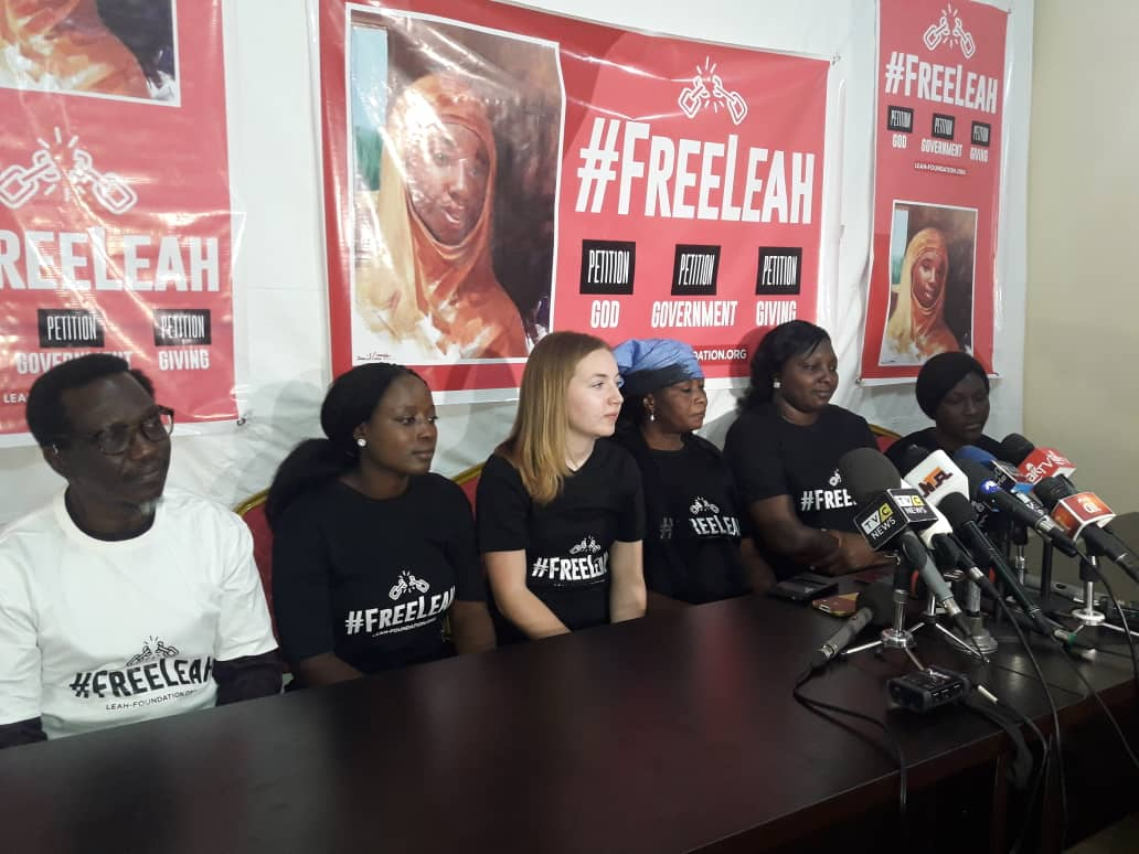 Leah Sharibu's mother wants FG to expedite her release