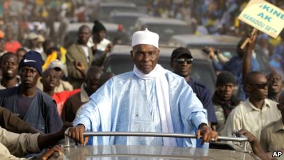 Former Senegalese President, Abdoulaye returns home